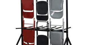 folding chair storage hanging folding chair truck holds chairs