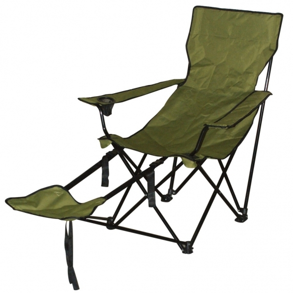 folding chair w footrest