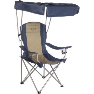 folding chair with canopy kamp rite cc chair with shade canopy