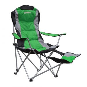 folding chair with footrest gigatent folding camping chair with footrest cc