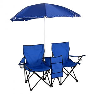 folding chair with umbrella skylrg