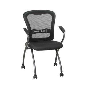 folding desk chair deluxe commercial titanium folding office chair