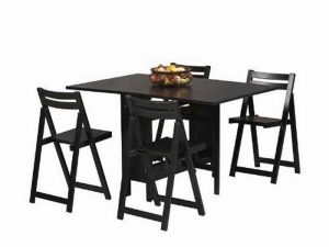 folding dining table and chair black folding dining table and chairs