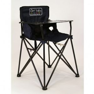folding high chair ciao baby portable high chair navy
