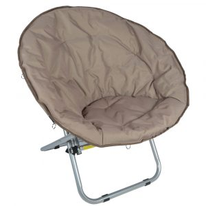 folding moon chair xs moon chair brown