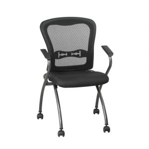 folding office chair deluxe commercial titanium folding office chair