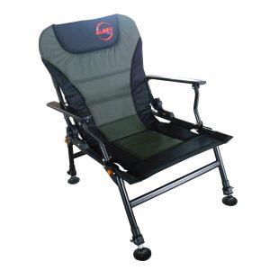folding recliner chair fishing fc dpvc adjlg dgrn deal