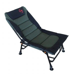 folding recliner chair fishing fc dpvc adjlg dgrn kmswm