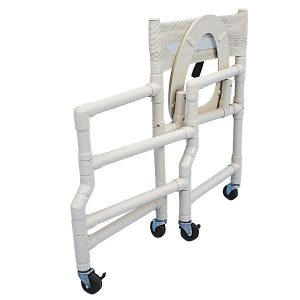 folding shower chair pvc shower chair detail