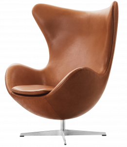 fritz hansen chair egg elegance walnut png