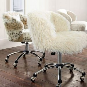 fur desk chair fur desk chair cover