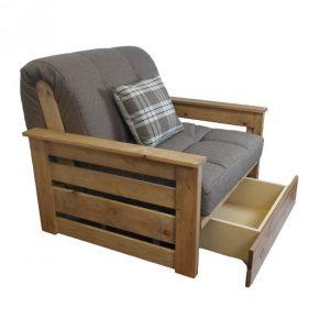 futon chair mattress interesting futon chair bed with storage underneath x