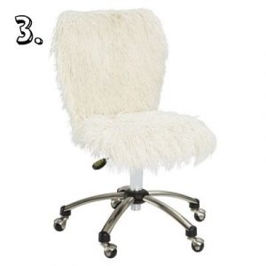 fuzzy desk chair furchair