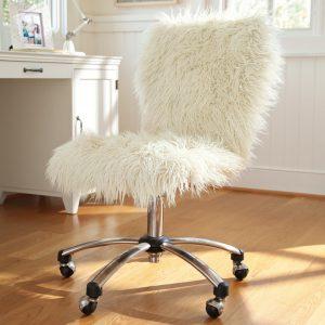 fuzzy desk chair furdeskchairjpg ccfbcaec