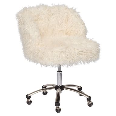 fuzzy desk chair