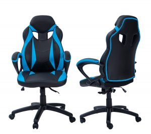 gaming chair cheap merax racing style angle