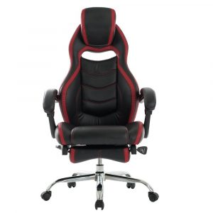 gaming chair with footrest viva office