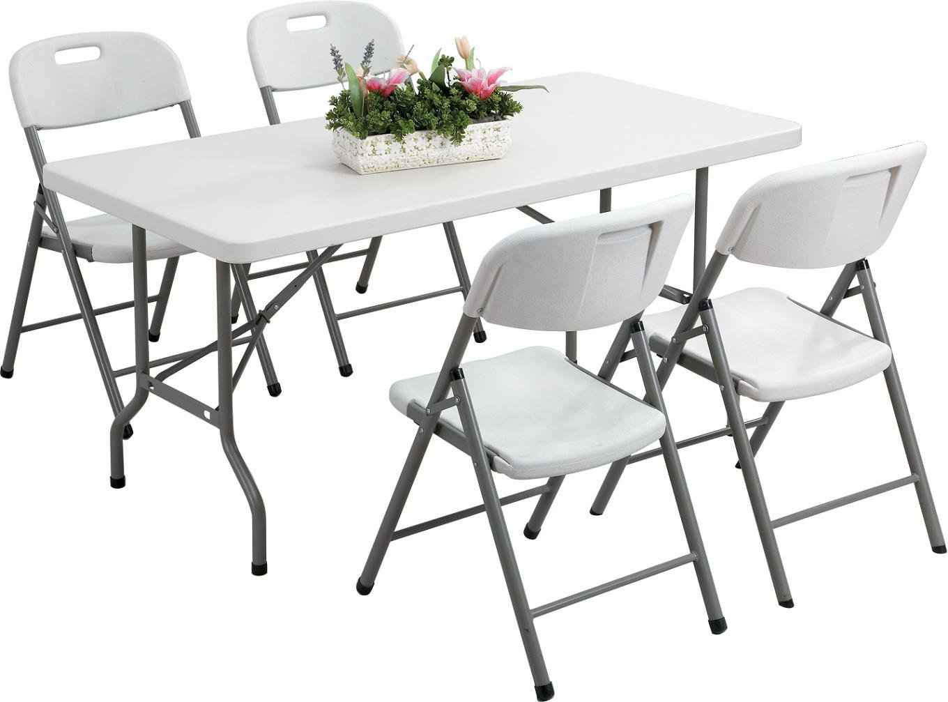 garden tables and chair