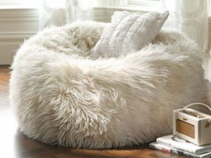 ghost chair ikea fuzzy bean bag chair bean bag chair fuzzy white ababbeff