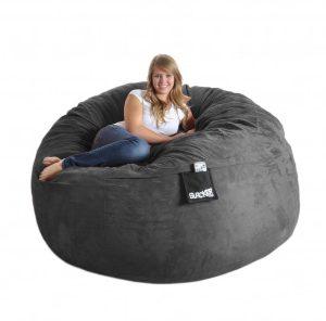 giant bean bag chair black bean bag chairs