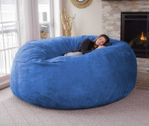 giant beanbag chair chill bag giant bean bag chair