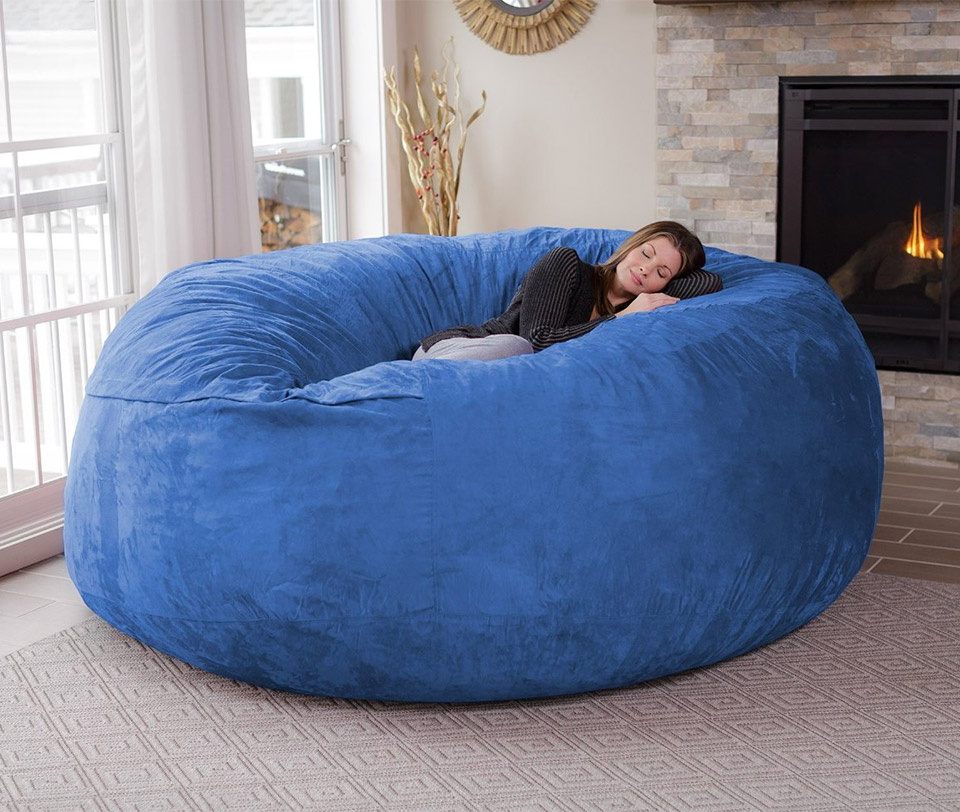 giant beanbag chair