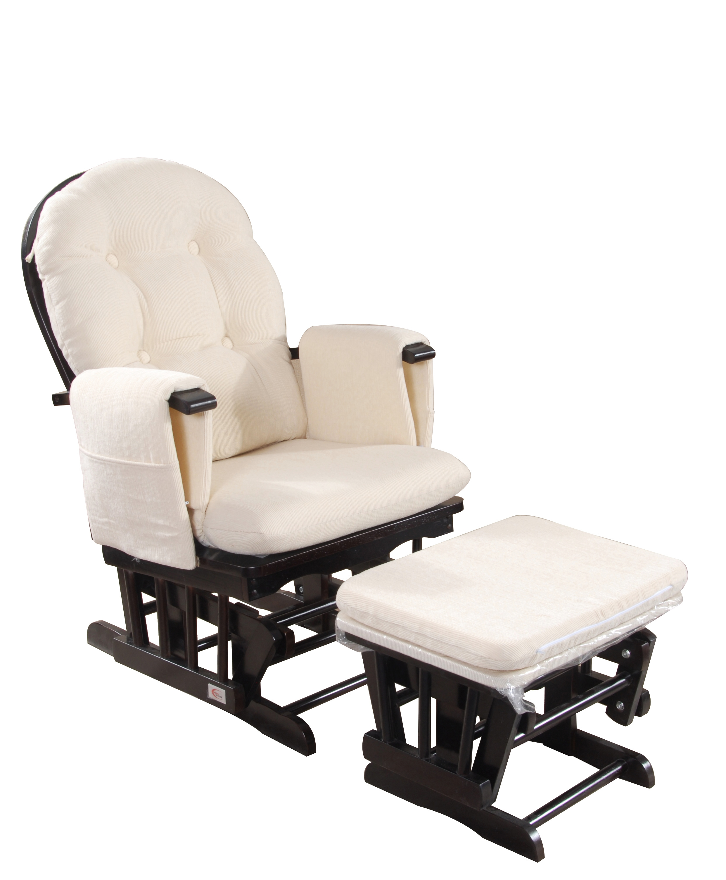 glider rocking chair blackbeige