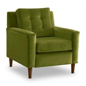 green velvet chair master:sky
