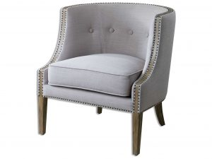 grey accent chair ut zm