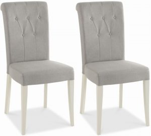 grey and white chair bentley designs hampstead soft grey and walnut dining chair upholstered pair