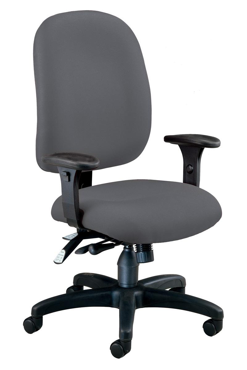 grey desk chair