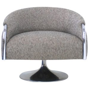 grey swivel chair z