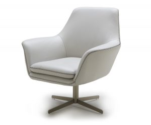 grey swivel chair a c
