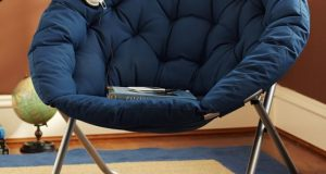 hang a round chair solid papasan chair c