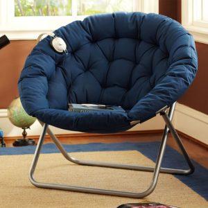 hang a round chair solid papasan chair c