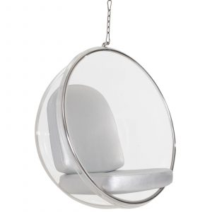 hanging bubble chair eei slv
