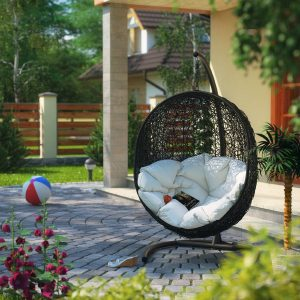 hanging chair outdoors hanging egg chair outdoor pictures