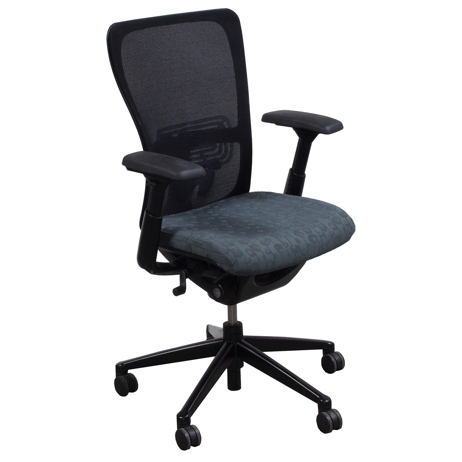 haworth zody chair haworth zody gray cirlcle