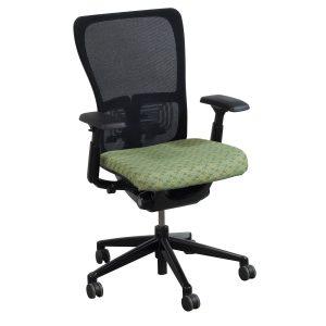 haworth zody chair haworth zody task chair green
