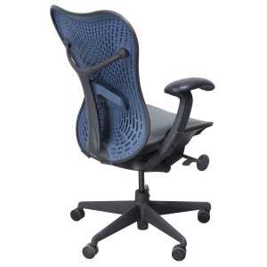 herman miller mirra chair herman miller mirra blue
