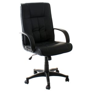 high back computer chair chair black pic