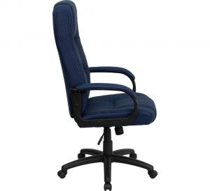 high back office chair high back navy fabric executive office chair bt bl gg