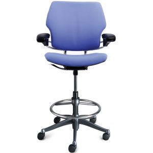 high office chair humanscale freedom ergonomic drafting leather high office chair lg