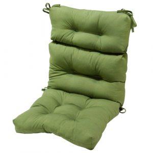 highback chair cushion greendale home fashions outdoor high back chair cushion