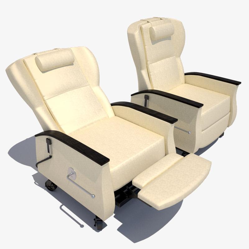 hospital recliner chair