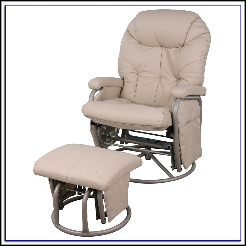 ikea chair with ottoman