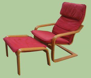 ikea chair with ottoman img