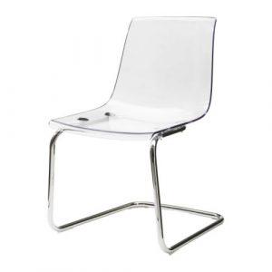 ikea clear chair tobias chair pe s
