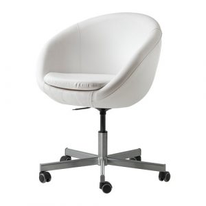 ikea computer chair skruvsta swivel chair white pe s