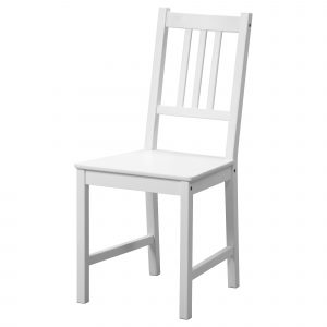ikea white chair stefan chair white pe s